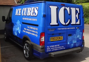 Ice delivered 7 days a week.